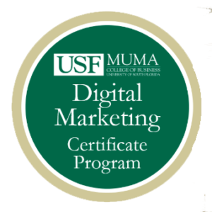 USF Muma Digital Marketing Program Logo
