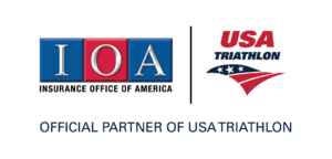IOA USA Triathlon Logo Lockup